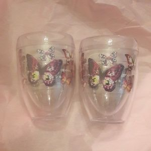 Tervis Butterfly Wine Glasses